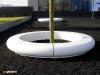 Corona circular garden landscape seating