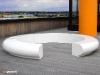 Corona GRP fibreglass seating