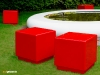 Cube seating and tables