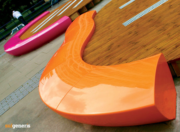Sui generis launches new grp outdoor furniture collection for Urban furniture