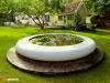 Aqua Corona circular water feature