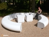 Corona circular sectional seating