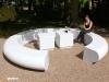 Corona circular sectional seating