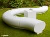 Halo modular garden park landscape furniture