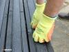 Anti-slip decking strips make slippery decks safer.