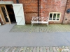 Non-slip floor sheets at Snape Maltings shopping tourist area