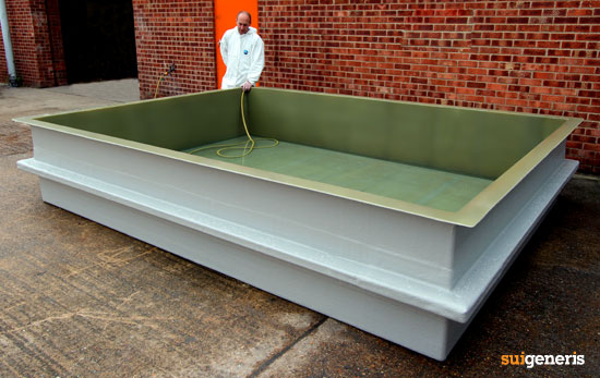 Bespoke acid tank bund