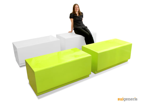 Bench modular, funky seating