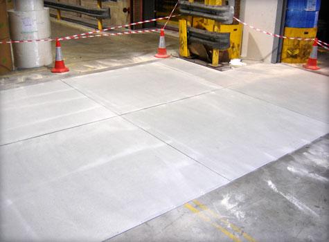 3. Anti-Slip Floor Sheets.