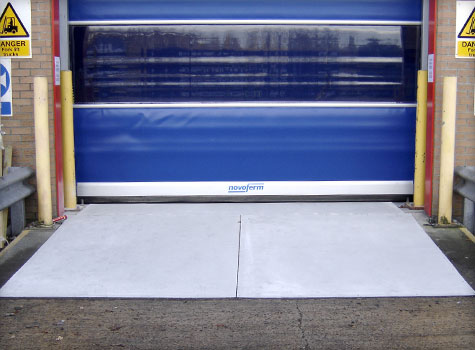 8. Fitted to ramp area for improved traction.
