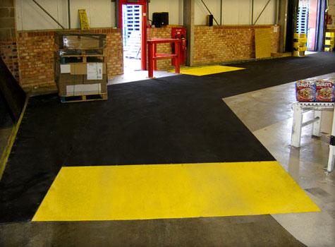 9. Anti-Slip Floor Sheets factory installation.