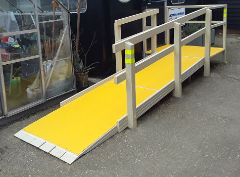 8. Anti-Slip Floor Sheets for ramps and platforms.