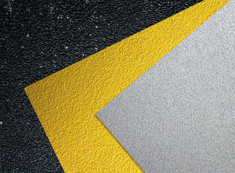 7. Anti-Slip Floor Sheets gritted surface for safety on slip harzard areas.
