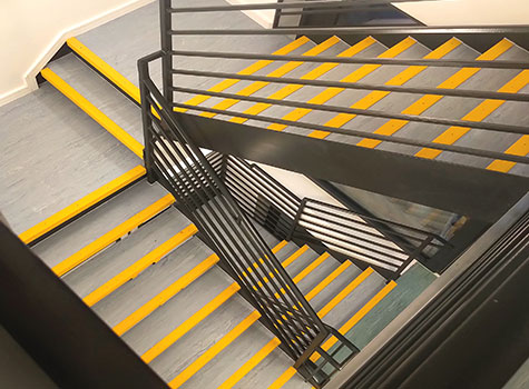 6. Stair Nosings are quick and easy to install, for internal or exterior use.