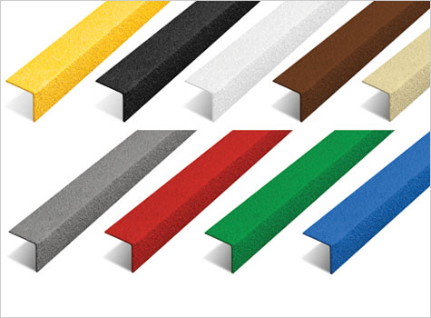 4. Anti-Slip Stair Nosing in a range of colours.