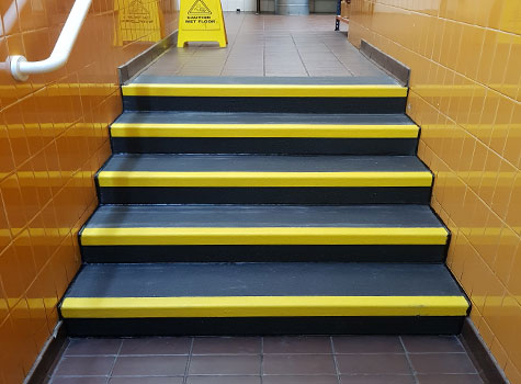3. Anti-Slip Stair Treads for interior or exterior stair safety.