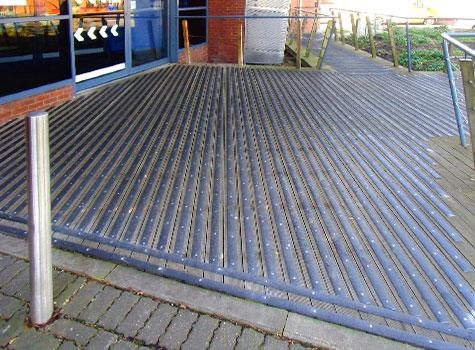 12. Anti-Slip Decking Strips for public safety on slip hazard areas.