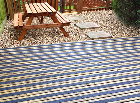 13. Anti-Slip Decking Strips for slippery wooden flooring and steps.
