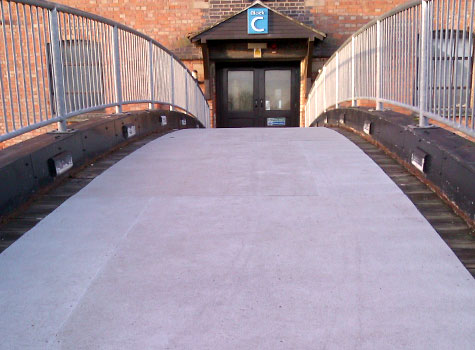 10. Heavy duty Floor Sheets for public use ramps, bridges and footpaths.