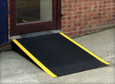 11. Anti-Slip Floor Sheets for ramps.