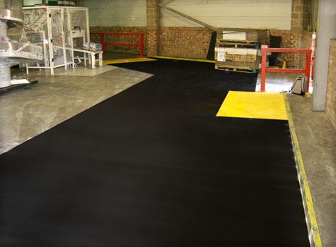 14. Anti-Slip Floor Sheets factory installation.