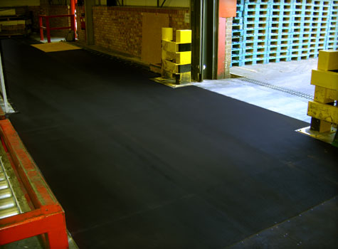 15. Anti-Slip Floor Sheets factory installation.