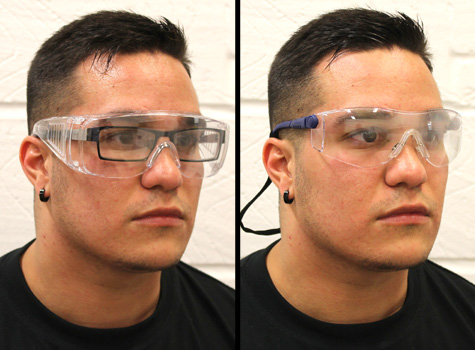 2. Health & Safety PPE - eye protection workwear.