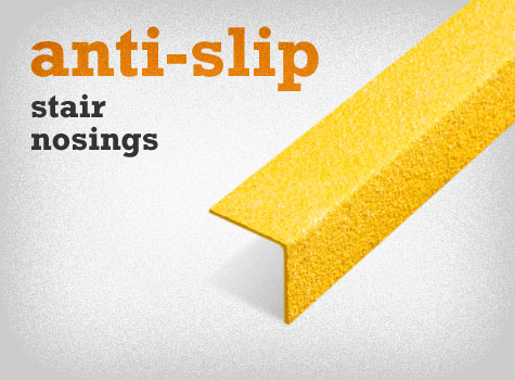 6. Anti-Slip Stair Nosings