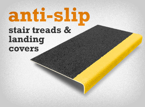 1. Anti-Slip Stair Treads and Stair Tread Landing Covers.