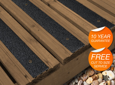 Hardwearing Strips For Decking Or Steps   Quick And Easy To Install.