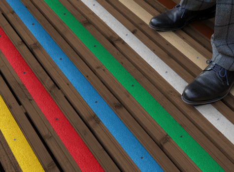 2. Decking Strips available in a greater range of colours.