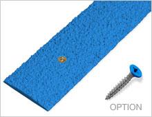 Decking Strips - Blue RAL 5015