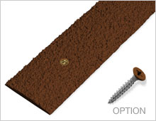 Decking Strips - Brown RAL 8028
