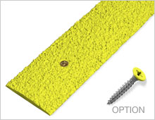 Decking Strips - Lime RAL 1016