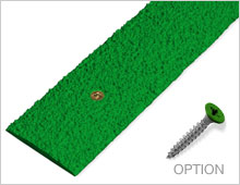 Decking Strips - Green RAL 6001