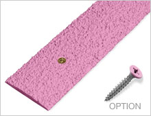 Decking Strips - Pink RAL 3015