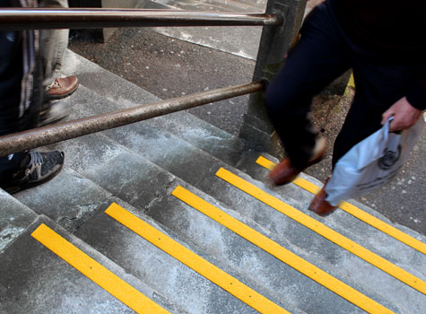 12. Anti-Slip Step Strips - easily cut on-site, quick and easy to install.