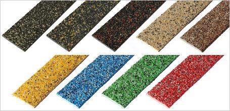 Decking Strips Colourdec blended colours range.