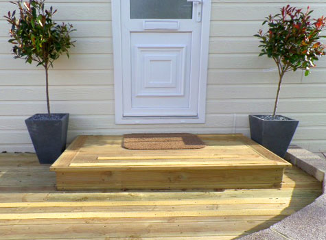 7. Make doorways and exits non-slip with GRP grip strips.