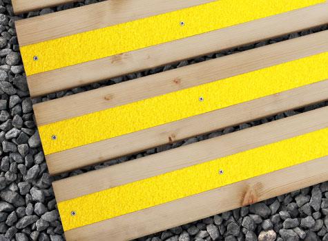 10. Anti-slip Decking Strips, help create a safer environment.