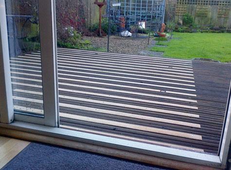 4. Improve patio and garden decking safety with anti-slip deck strips.
