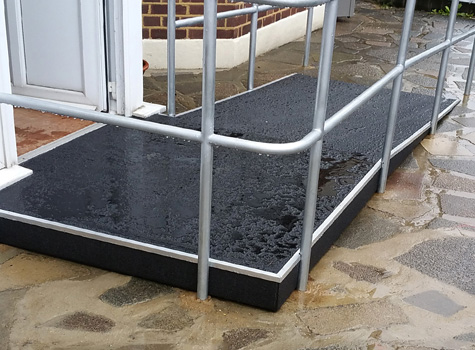 3. Anti-Slip Floor Sheets disabled access ramp health and safety.