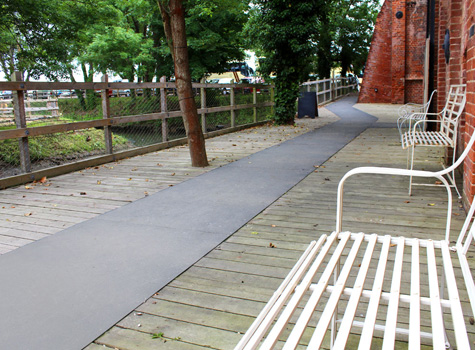 4. Anti-Slip Floor Sheets for footpaths and public walkways safety.