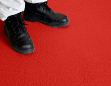 Floor Sheets - Red RAL 3950