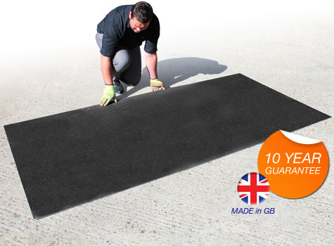 1. Anti-Slip Floor Sheets in a wide range of stock colours.