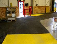 Anti-slip floor sheets