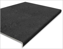 Extra Deep Stair Tread Cover - Black RAL 9004