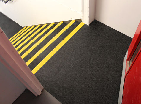 3. Ideal for high footfall areas and heavily worn stair landings.