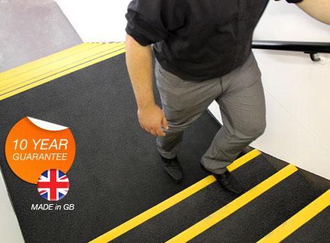 1. DDA Compliant Anti-slip Stair Tread Landing Covers.