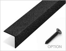 Stair Nosing - Black RAL 9004